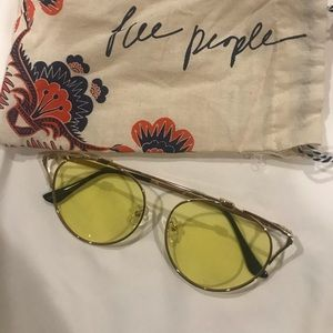 Free people tinted glasses